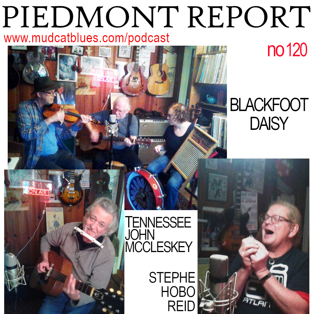 "Piedmont Report 120 (Special ""Live at Hoopoe Acres"" Edition)"